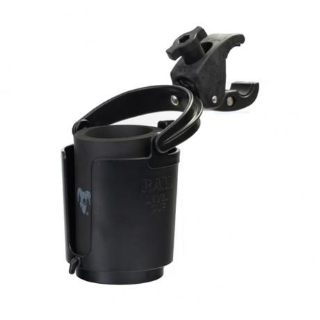 RAM Level Cup Самохоризонтираща се поставка за напитки с RAM Tough-Claw монтажно