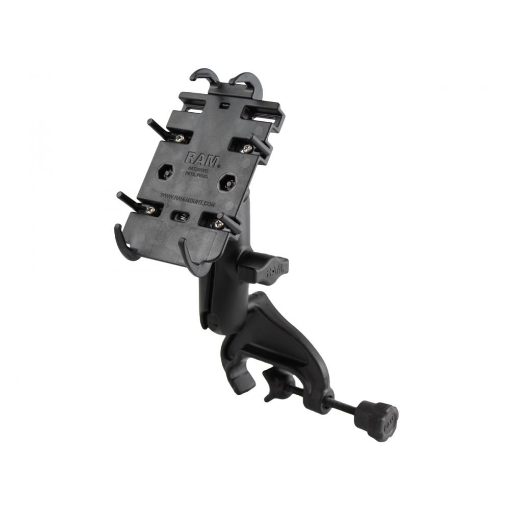 RAM Quick-Grip Монтажно за смартфон с основа с вилка и скоба