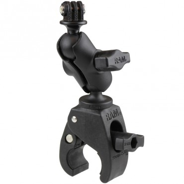 RAM Tough-Claw Монтажно с малка скоба с универсален адаптер за екшън камера, Размер B