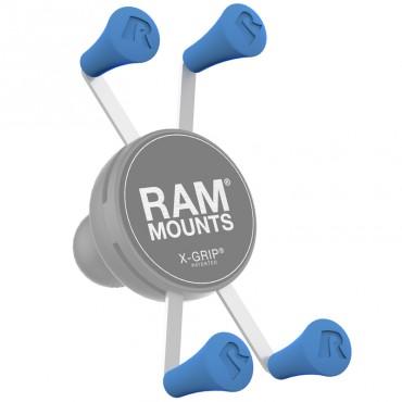 RAM X-Grip резервни тапи - син цвят, Комплект от 4 броя
