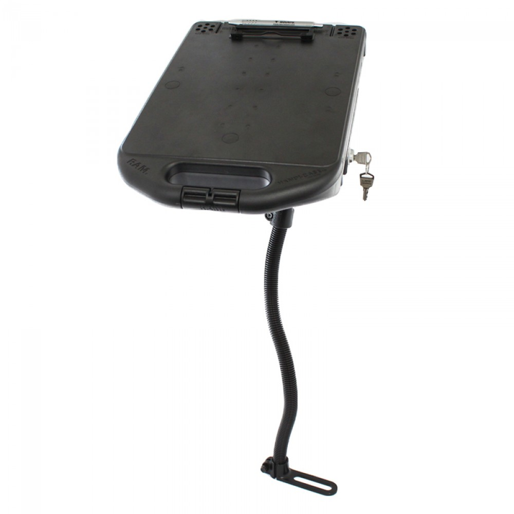 RAM Handi-Case с RAM Pod I мотажна стойка за автомобил, Размер С