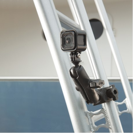 RAM Tough-Claw Държач с две сфери и универсален адаптер за екшън камера, Размер В