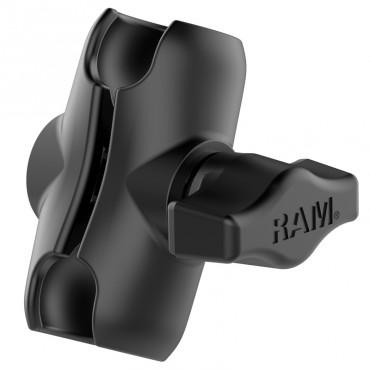 """RAM Късо 2.38"""" двойно рамо с две гнезда, Размер В"""